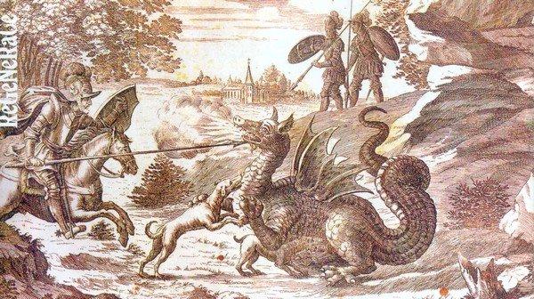 Souboj Truta s drakem